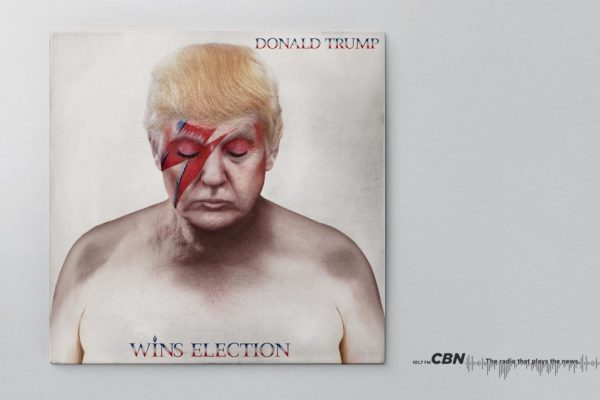 CBN – Donald Trump – David Bowie (Aladdin Sane)