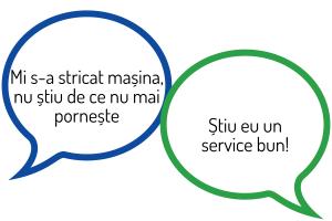 obtine recomandari de la clienti - service auto
