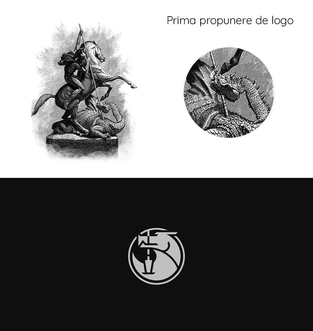 Prima propunere de logo Sanct Georgius